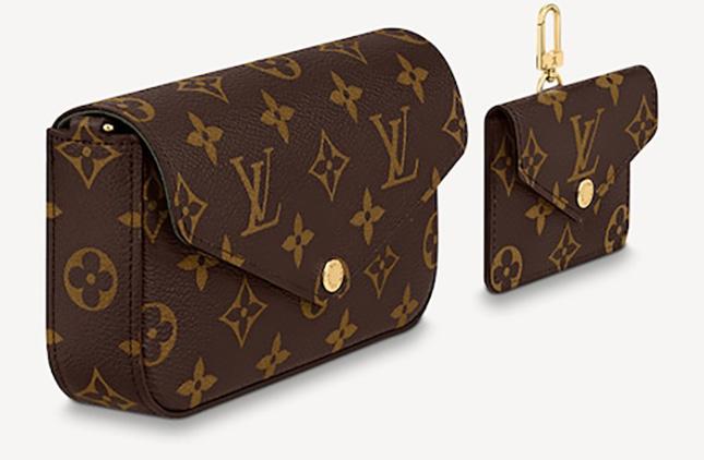 Louis Vuitton Felicie Strap And Go Bag