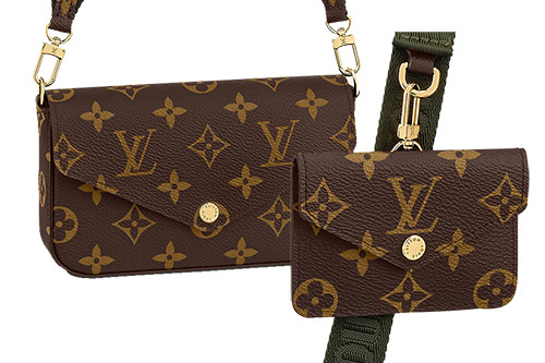 Louis Vuitton Felicie Strap And Go Bag thumb