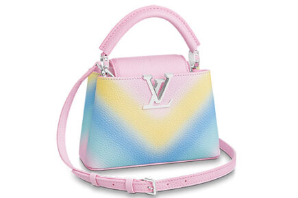 Louis Vuitton Rainbow V Capucines Bag thumb