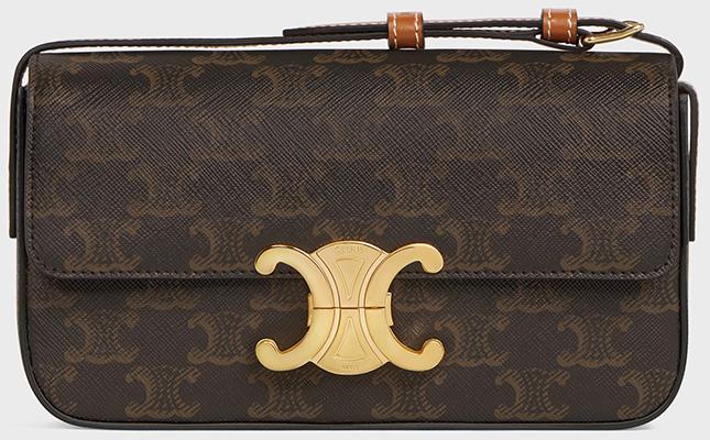 Celine Rectangle Triomphe Bag versus Chanel New Mini Classic Bag