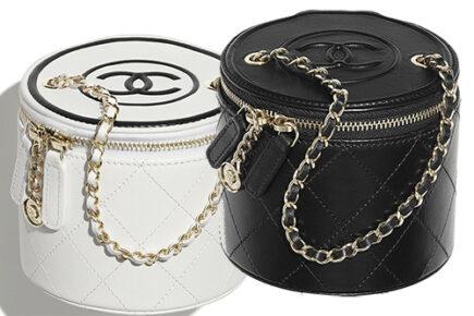 Chanel Chain And Charm Vanity Case thumb