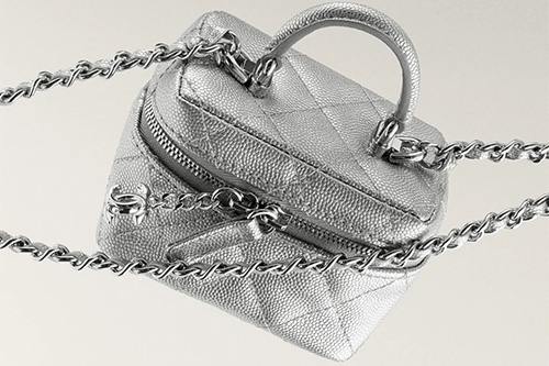 Chanel Extra Small Vanity Cases With Chain thumb