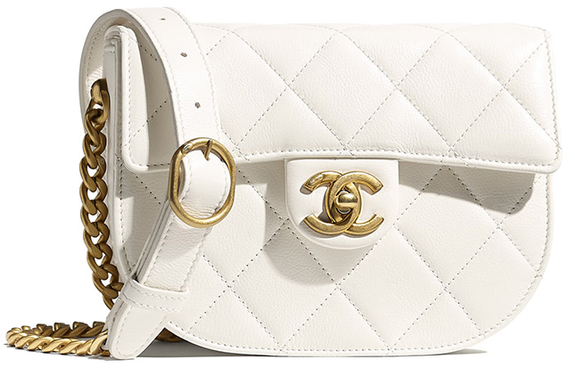 Chanel Mini Round Messenger Bag