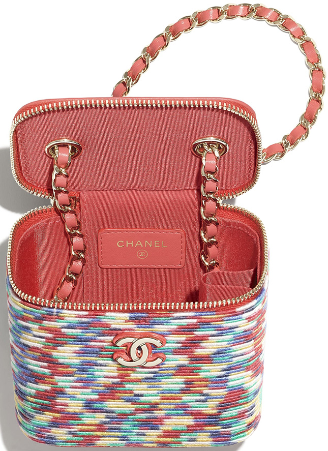 Chanel Small Multicolor Vanity Cases