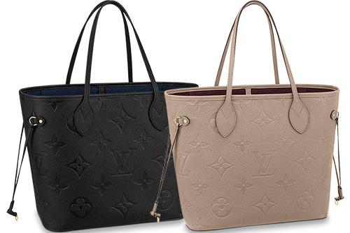 Louis Vuitton Monogram Empreinte Neverfull Bag thumb