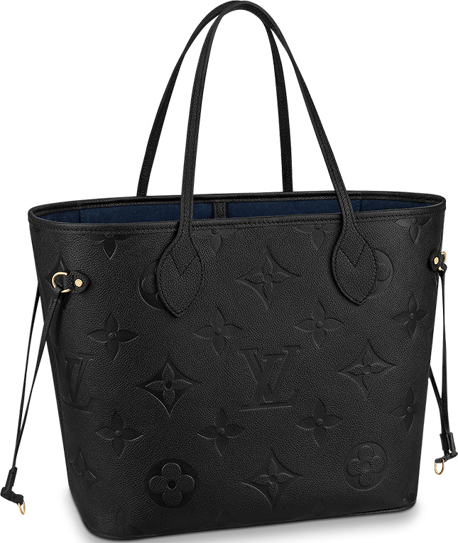 Louis Vuitton Monogram Empreinte Neverfull Bag