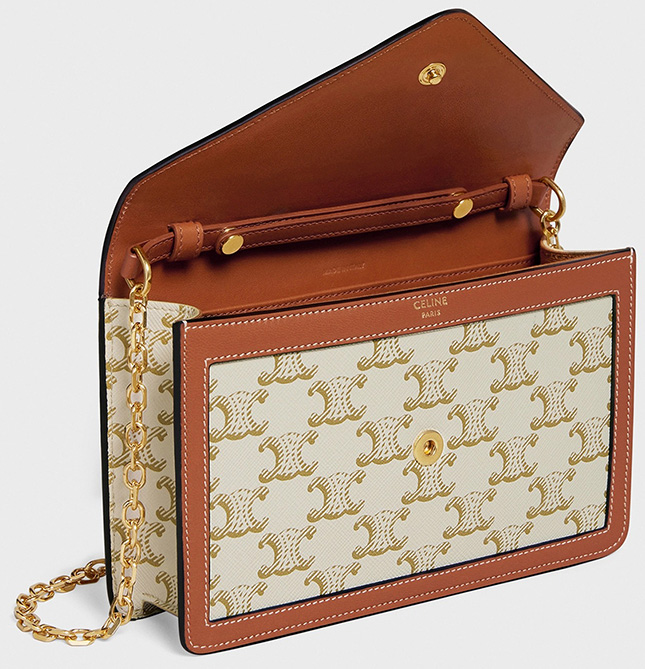 Celine Maillon Triomphe Wallet On Chain