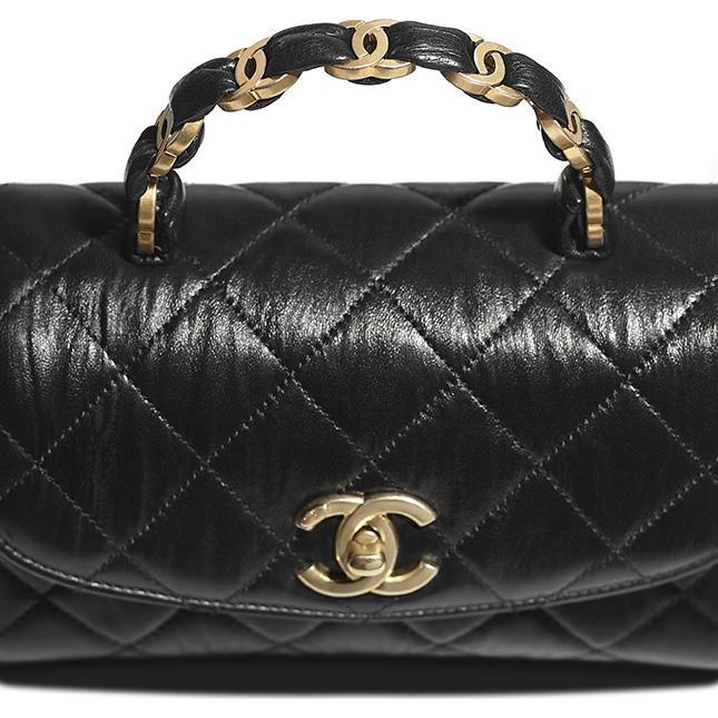 Chanel CC Wrapped Handle Bag