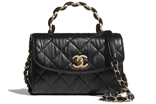 Chanel CC Wrapped Handle Bag thumb
