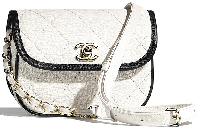 Chanel Round Flap Bag From Spring Summer Collection