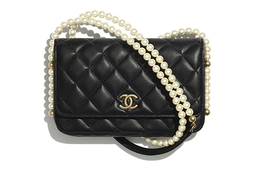 Chanel WOC With Pearl Chain thumb
