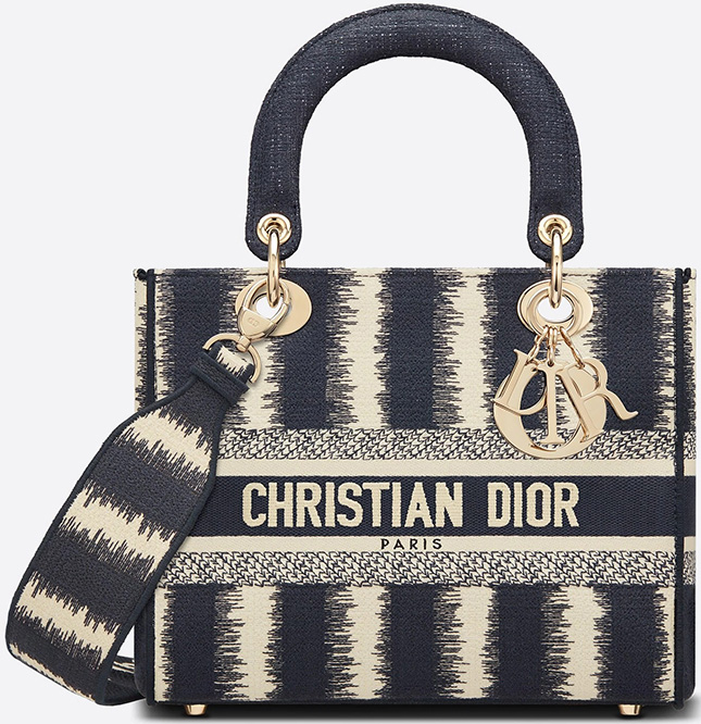 Dior D Stripes Bag Collection