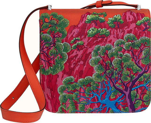 Hermes Sieste Au Paradis Bag