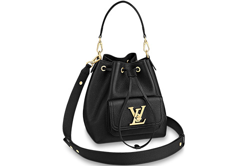 Louis Vuitton Lockme Bucket Bag With Front Pocket thumb