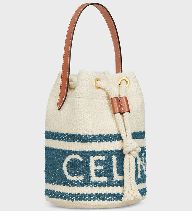 Celine Teen Drawstring Bag