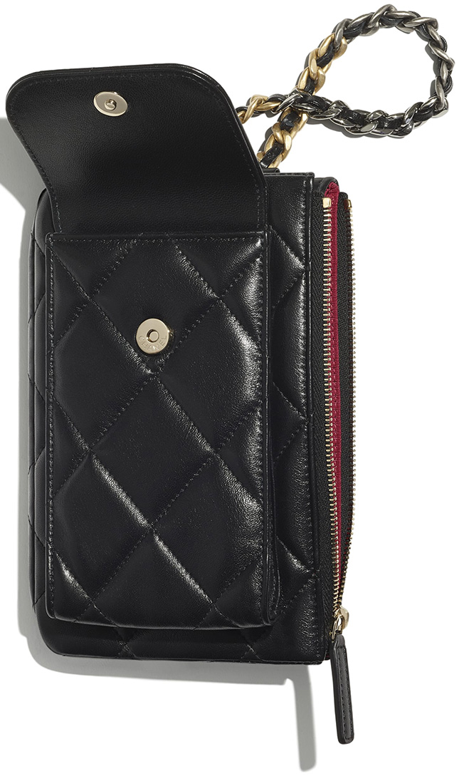 Chanel Pouch With Handle