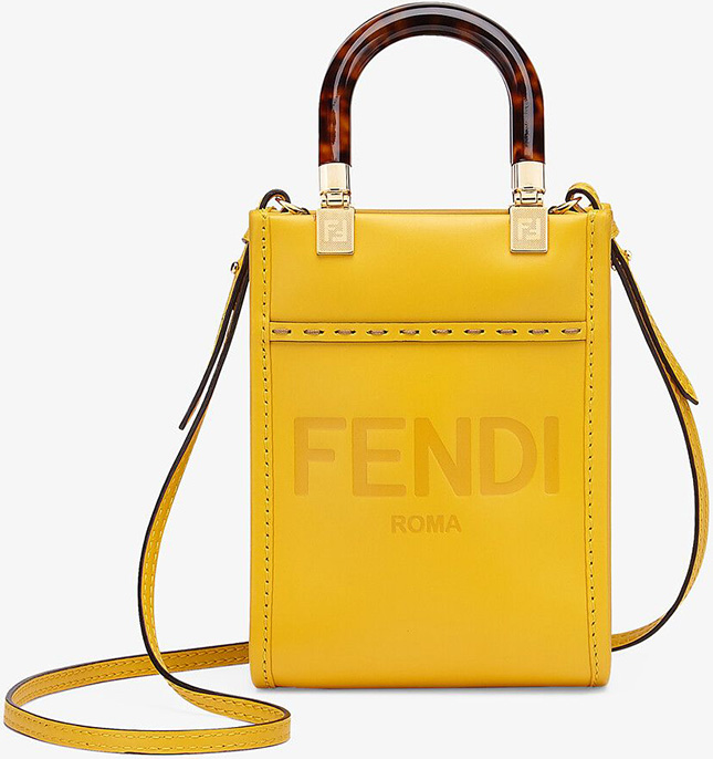 Fendi Mini Sunshine Shopper