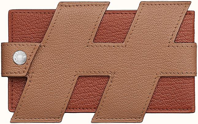 Hermes H Tag Card Holder