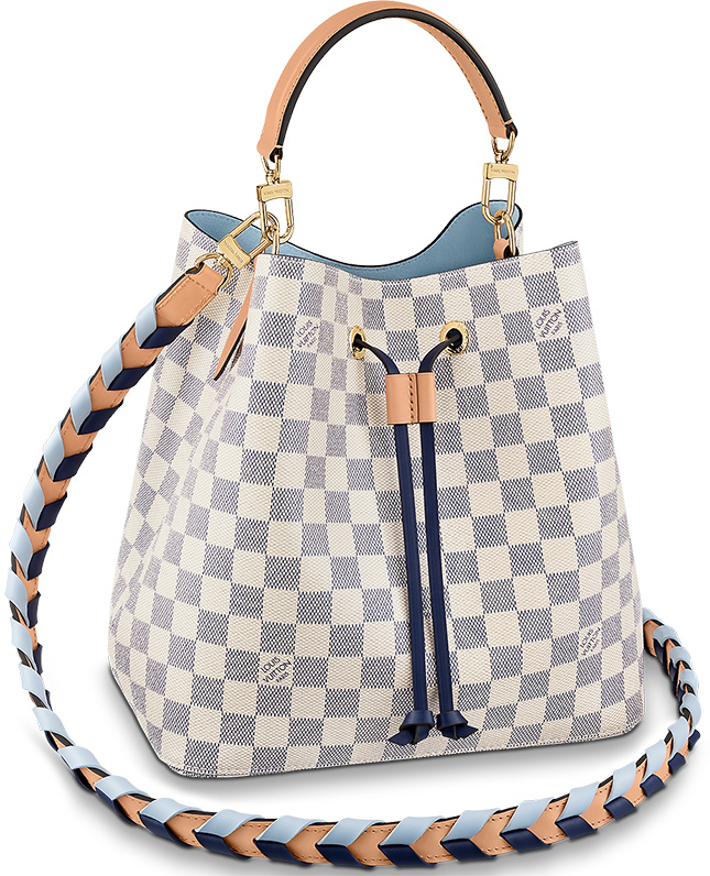 Louis Vuitton Colourful braided Bag Collection