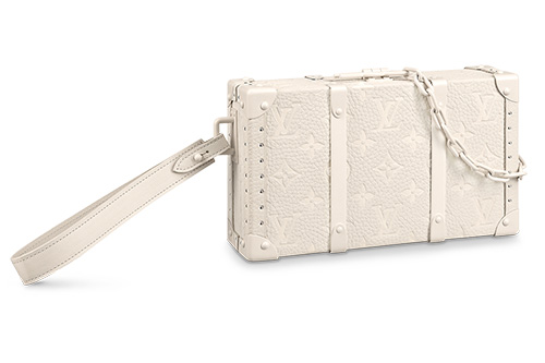 Louis Vuitton Monogram Wallet Trunk in Monogram Powder White thum