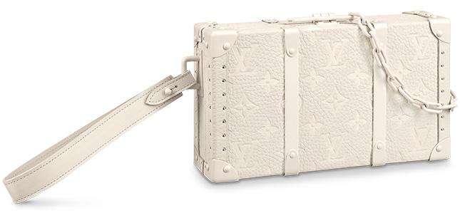 Louis Vuitton Monogram Wallet Trunk in Monogram Powder White