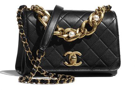 Chanel Pearl Boy Chain Bag thumb