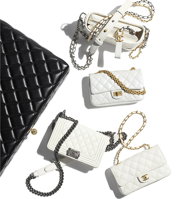 Chanel Set Of Mini Bags From The Pre Fall Collection