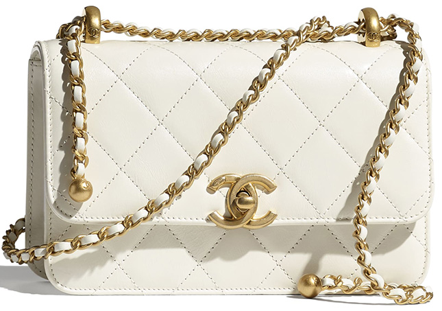 Chanel Vintage Flap Bag From Pre Fall Collection