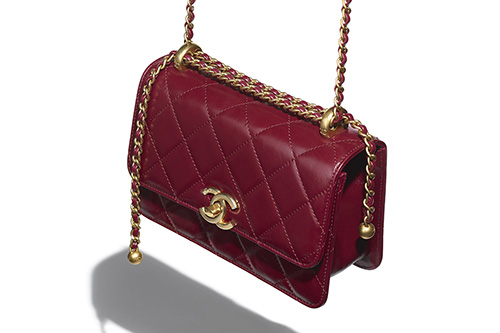 Chanel Vintage Flap Bag From Pre Fall Collection thumb