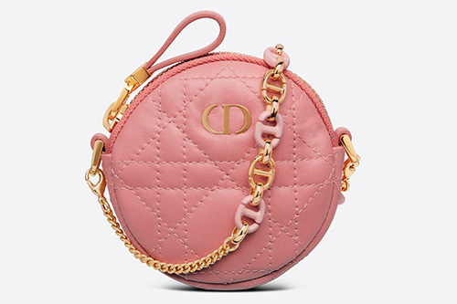 Dior Mini Caro Round Pouch thumb