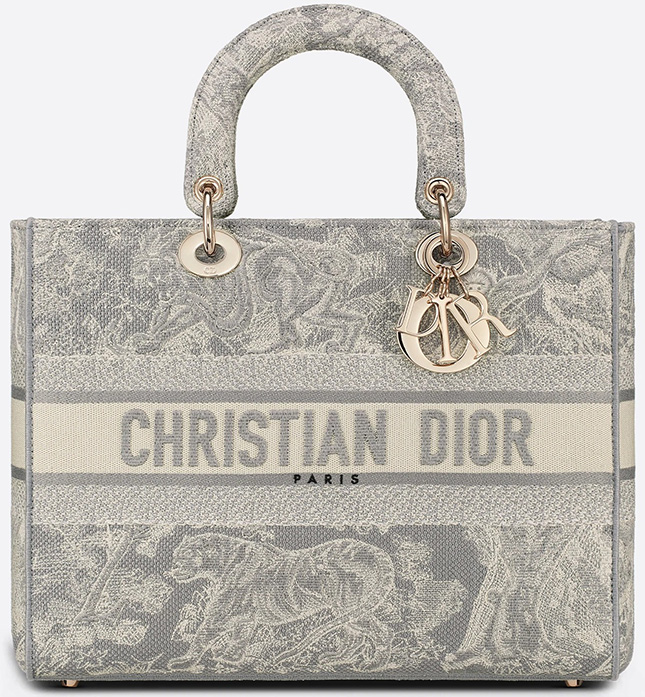 Dior Toile de Jouy Reverse Embroidery Bag Collection