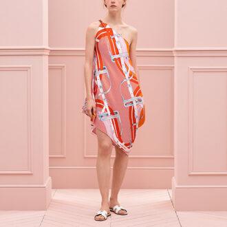 Hermes Petit H Silk Dress thumb