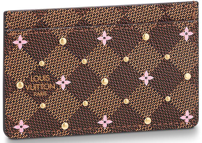Louis Vuitton Damier Ebene Studs Special Accessories Collection