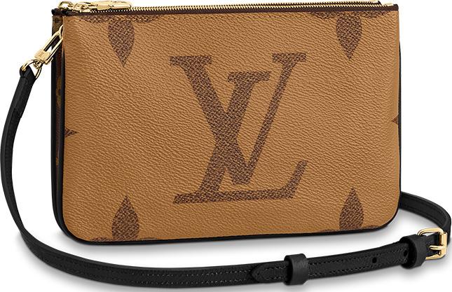 Louis Vuitton Double Zip Pochette