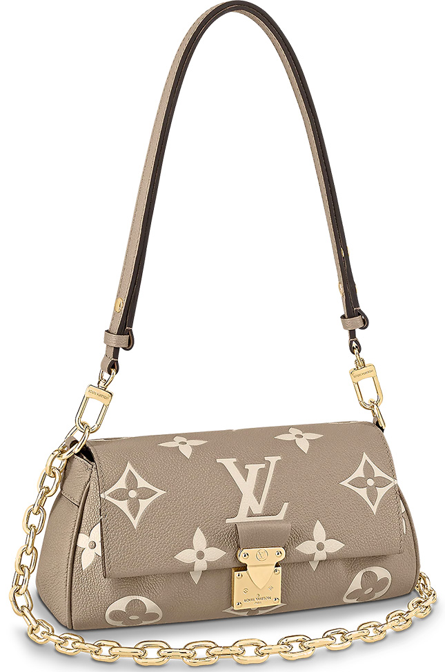 Louis Vuitton Monogram Empreinte Favourite Bag