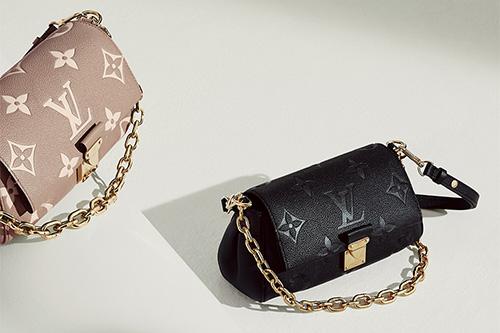 Louis Vuitton Monogram Empreinte Favourite Bag thumb