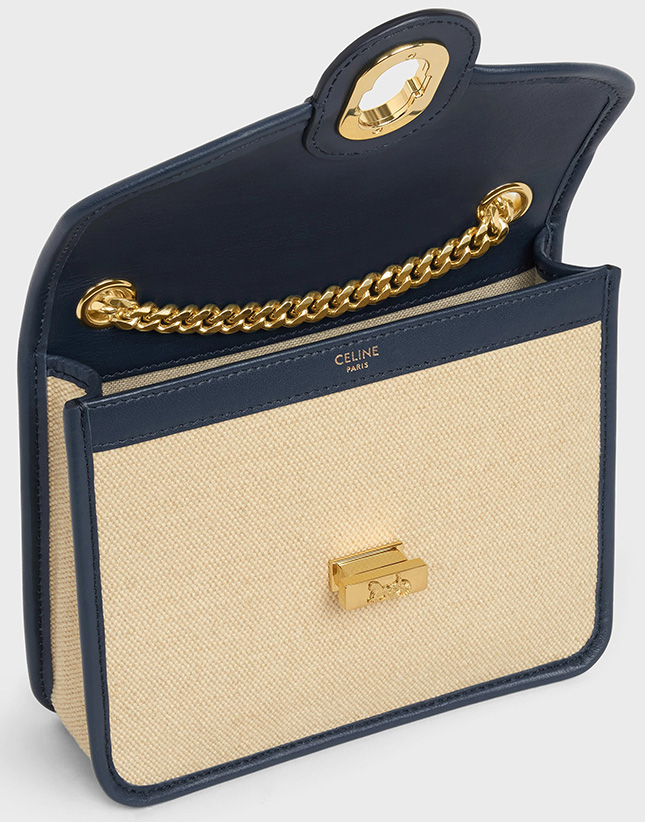 Celine Sulky Clutch With Chain