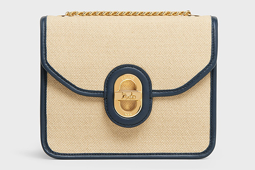 Celine Sulky Clutch With Chain thumb