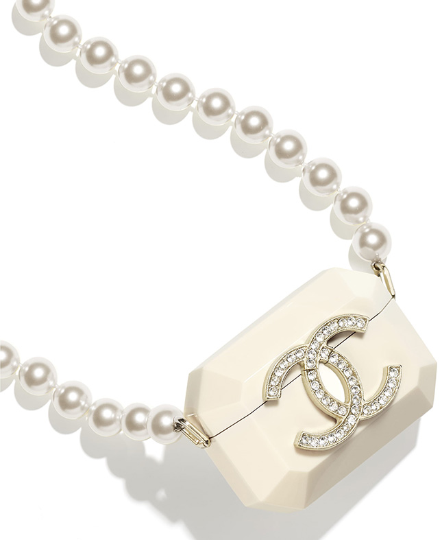 Chanel Airpods Pro Case Necklace