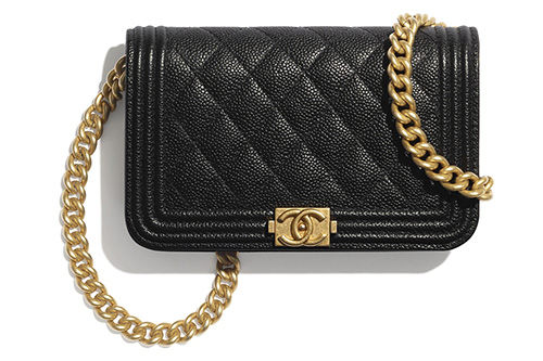 Chanel Boy Clutch With Chain thumb