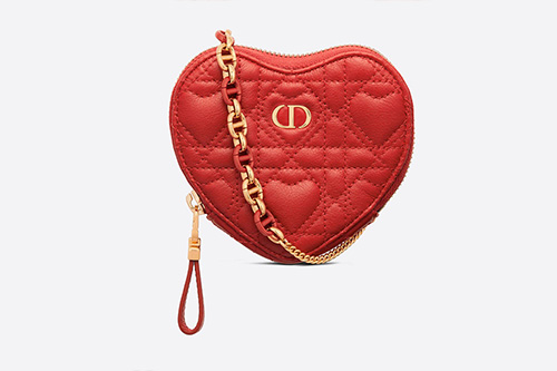 DiorAmour Caro Heart Pouch With Chain thumb