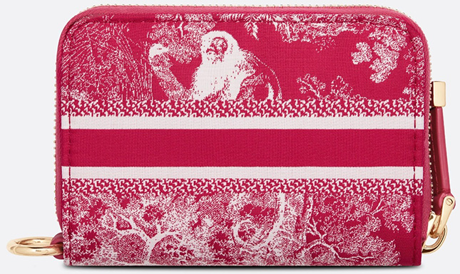 DiorTravel Detachable Card Holders