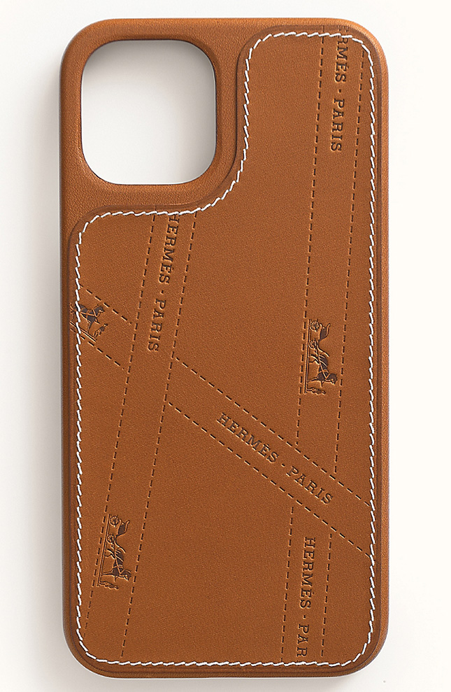 Hermes Bolduc iPhone Pro Case With MagSafe