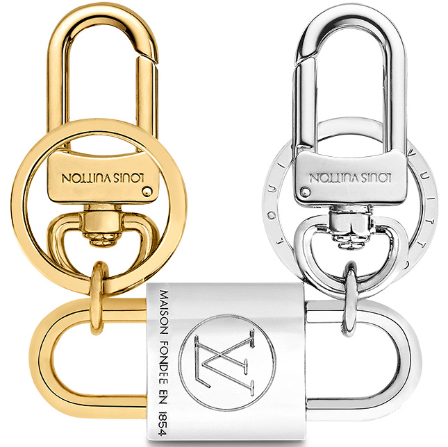 Louis Vuitton BFF Padlock Charm And Key Holder
