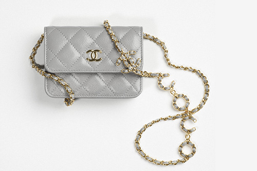 Chanel Coco CC Clutch With Chain V thumb