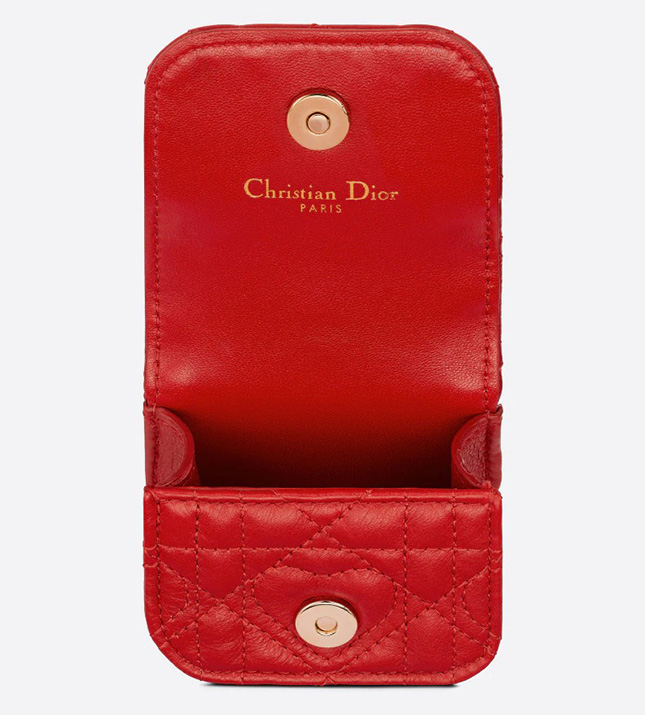 DiorAmour Caro Necklace Case For Aiprods Pro