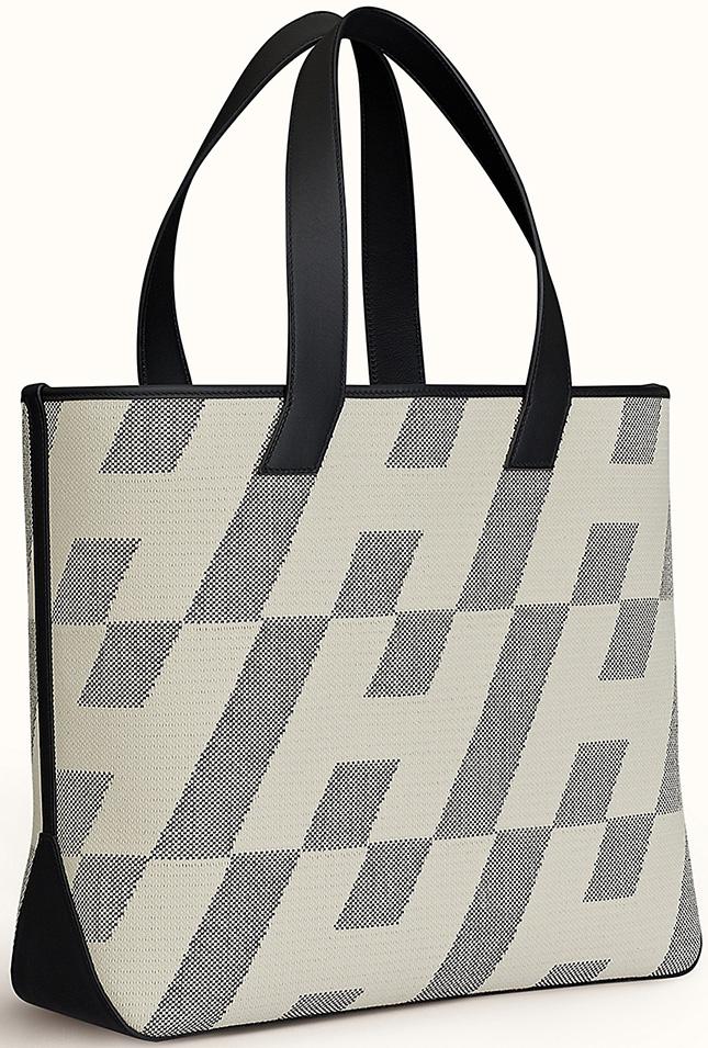 Hermes Cabas H en Biais Bag