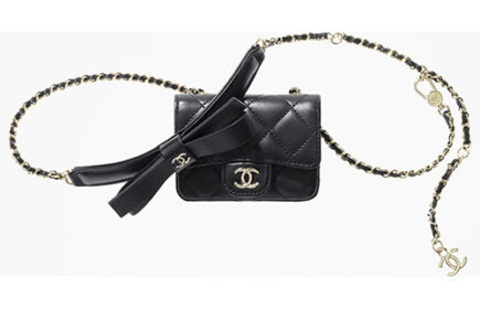 Chanel Bow Classic Belt Bag thumb