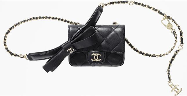 Chanel Bow Classic Belt Bag