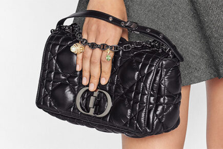 Dior Macro Cannage Caro Bag thumb
